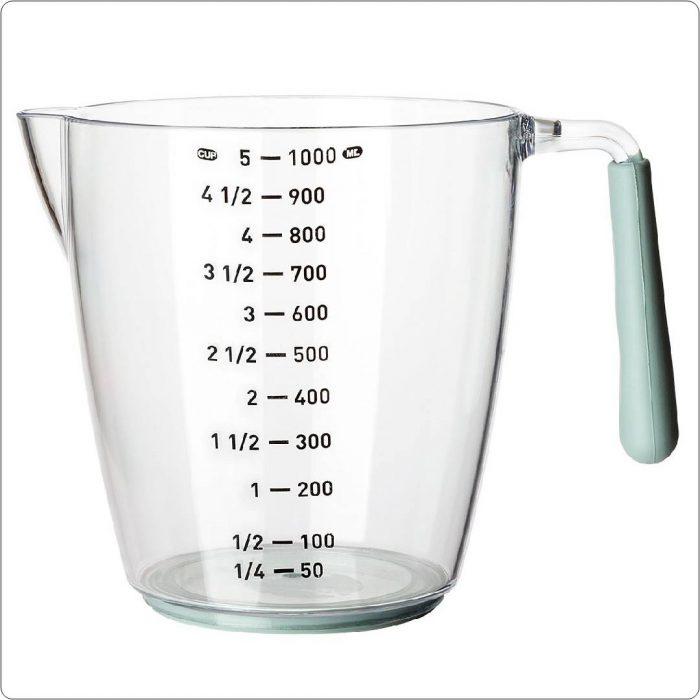 ölçü kabı, sıvı miktarı, su, hacim
