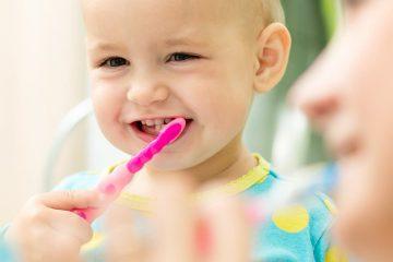 bebek diş fırçası, çocuk diş fırçalama-2