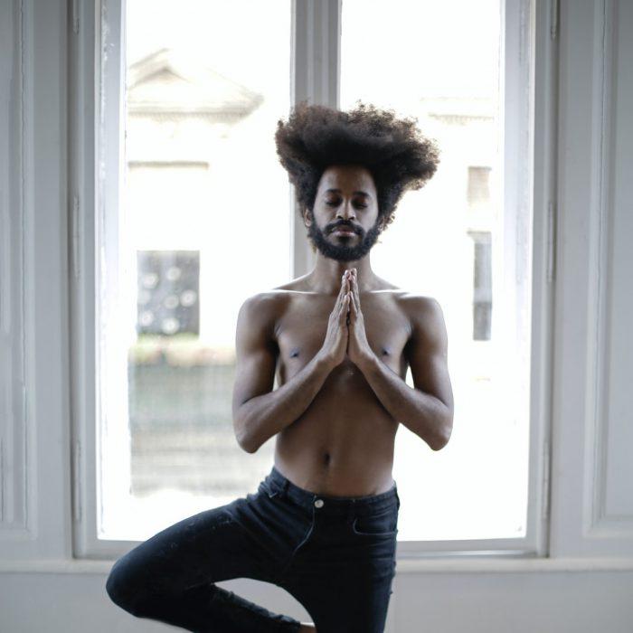 Denge, koordinasyon, yoga, meditasyon, kıvırcık, spor