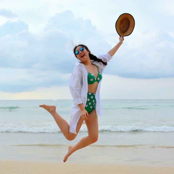 coşku, neşe, keyif, tatil, deniz, şapka, gözlük, mani, manik