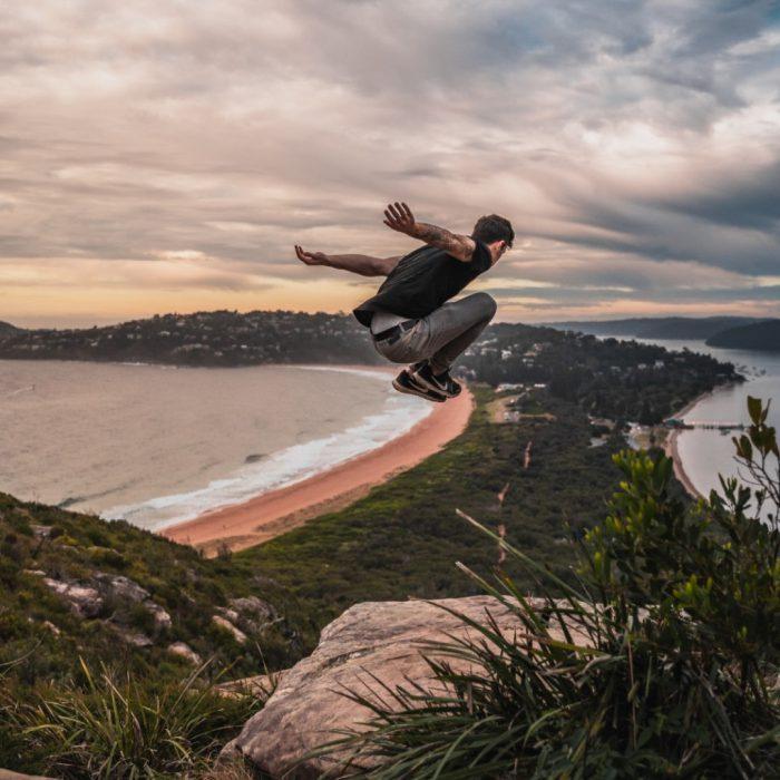 coşku, sevinç, abartı, heyecan, atlama, zıplama, adrenalin, manik, mani, deniz, spor