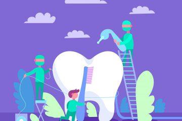 diş, ağız ve diş sağlığı, ağız hijyeni, mor