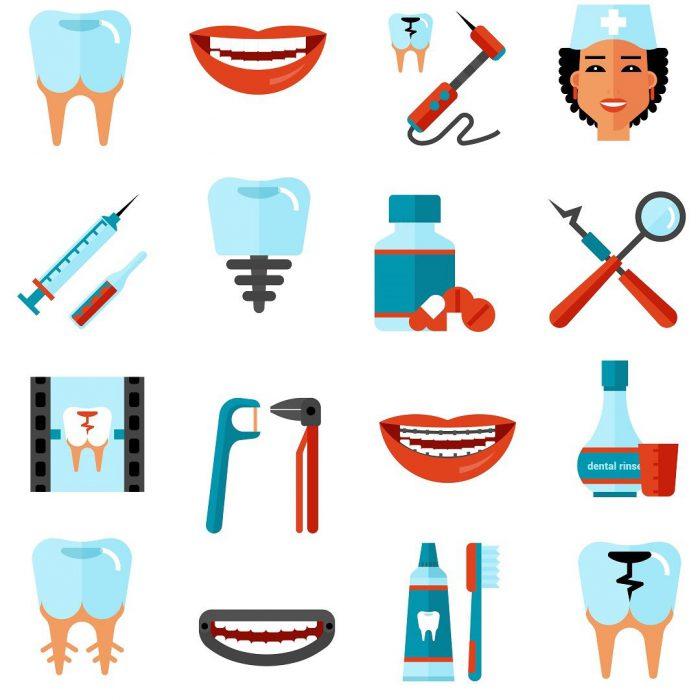 diş, ağız ve diş sağlığı, ekipmanlar