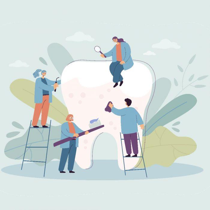 diş hekimi, temizlik, diş temizliği, ekip çalışması, dişçilik