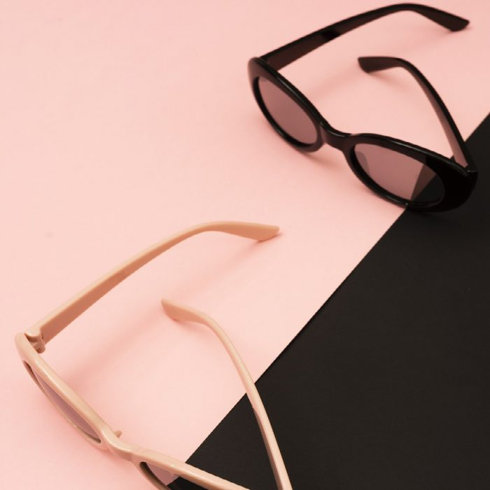 gözlük, güneş gözlüğü, pudra, siyah