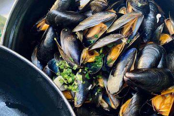 mussel, midye, su ürünleri, midye dolma