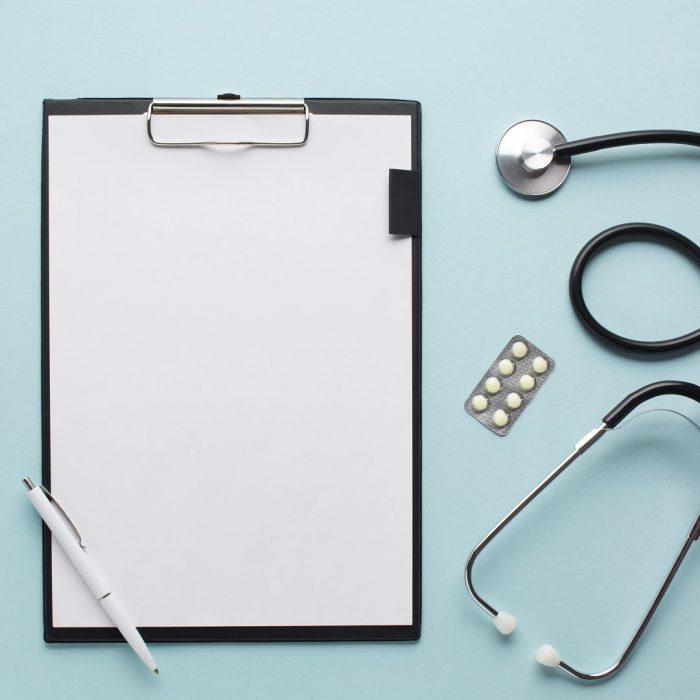 reçetelik, ilaç, steteskop, konsültasyon, hekim, doktor, muayene, klinik, yazı, tavsiye, danışmanlık