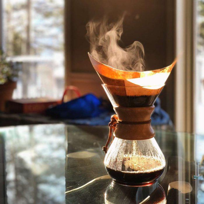 chemex, kahve demleme aparatı, cam kahve demleyici